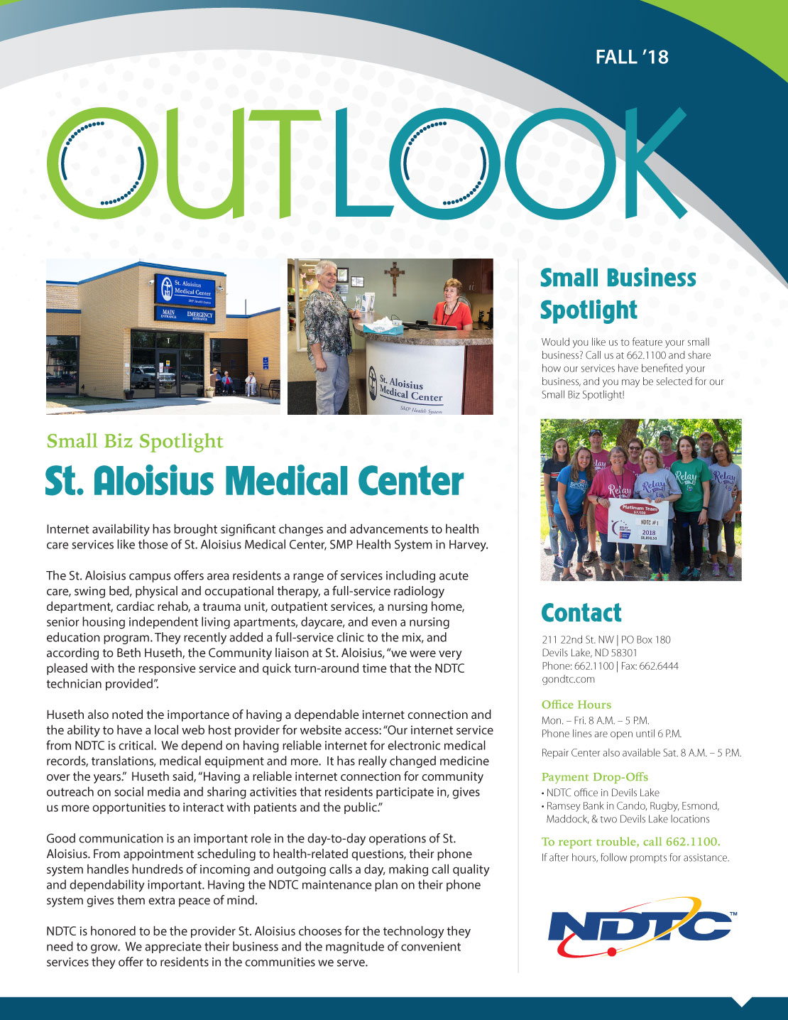 Fall 2018 Outlook Newsletter Preview